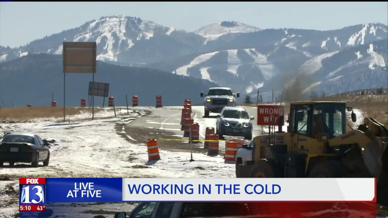 'The cold complicates everything': Construction crews battle early dose of winter-like weather