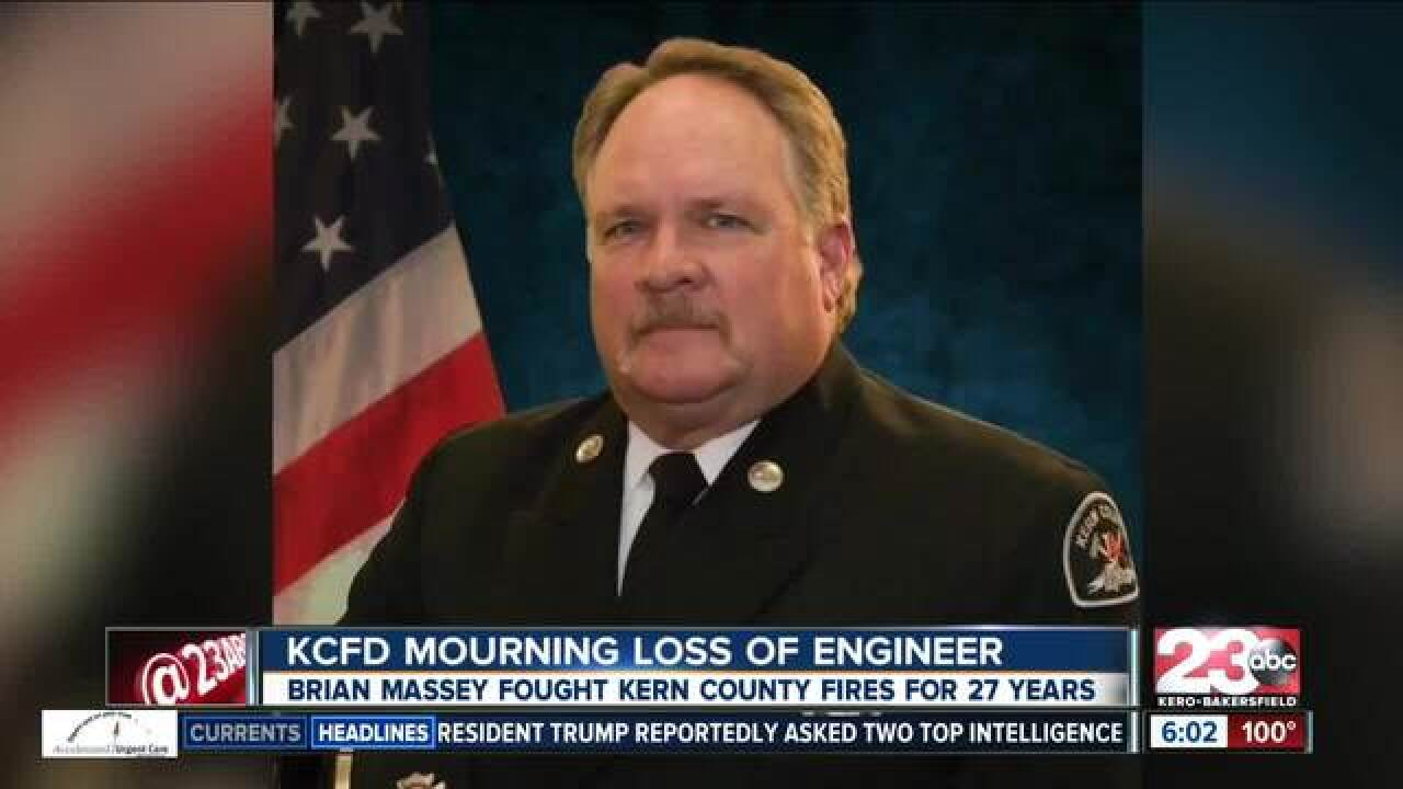 KCFD engineer passes away at age 56