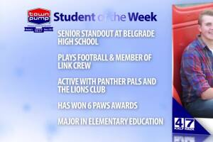 Student of the Week: Aidan Feddes