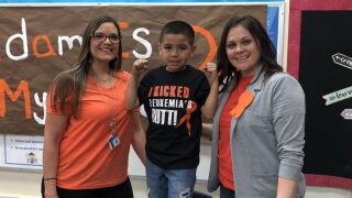 Local elementary celebrates a students cancer-free diagnosis
