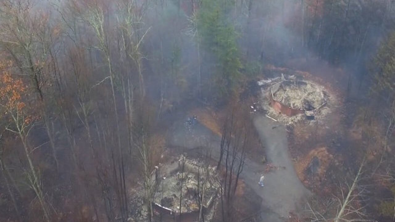 14 confirmed dead in Tennessee wildfires