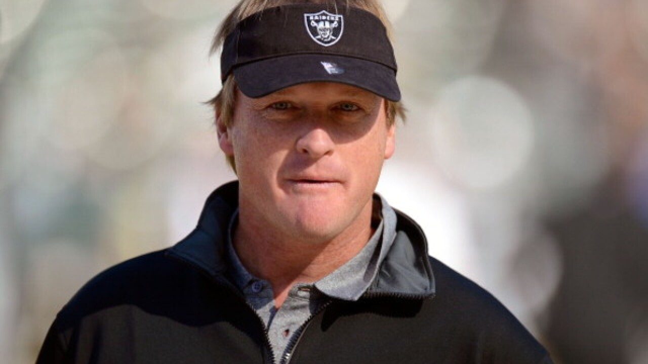 Raiders to make Jon Gruden richest NFL coach