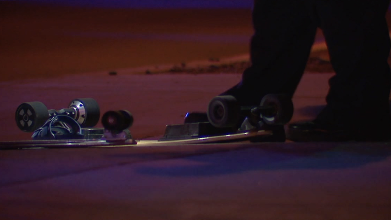 2 kids struck while skateboarding in Tempe