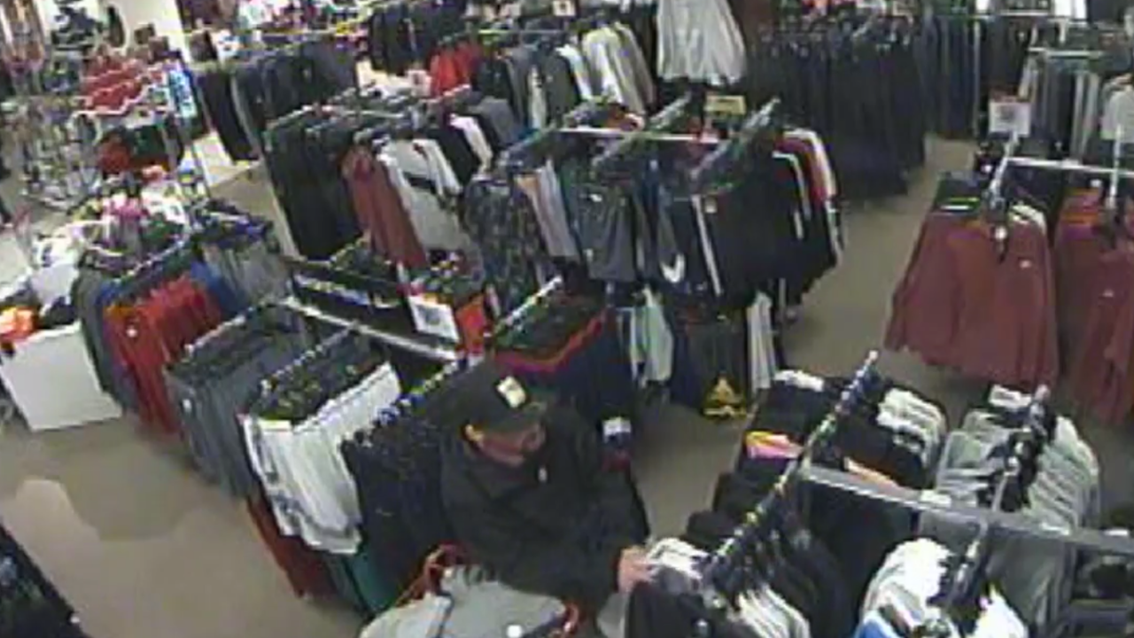 Hamburg police looking to identify person stealing merchandise from JC Penney