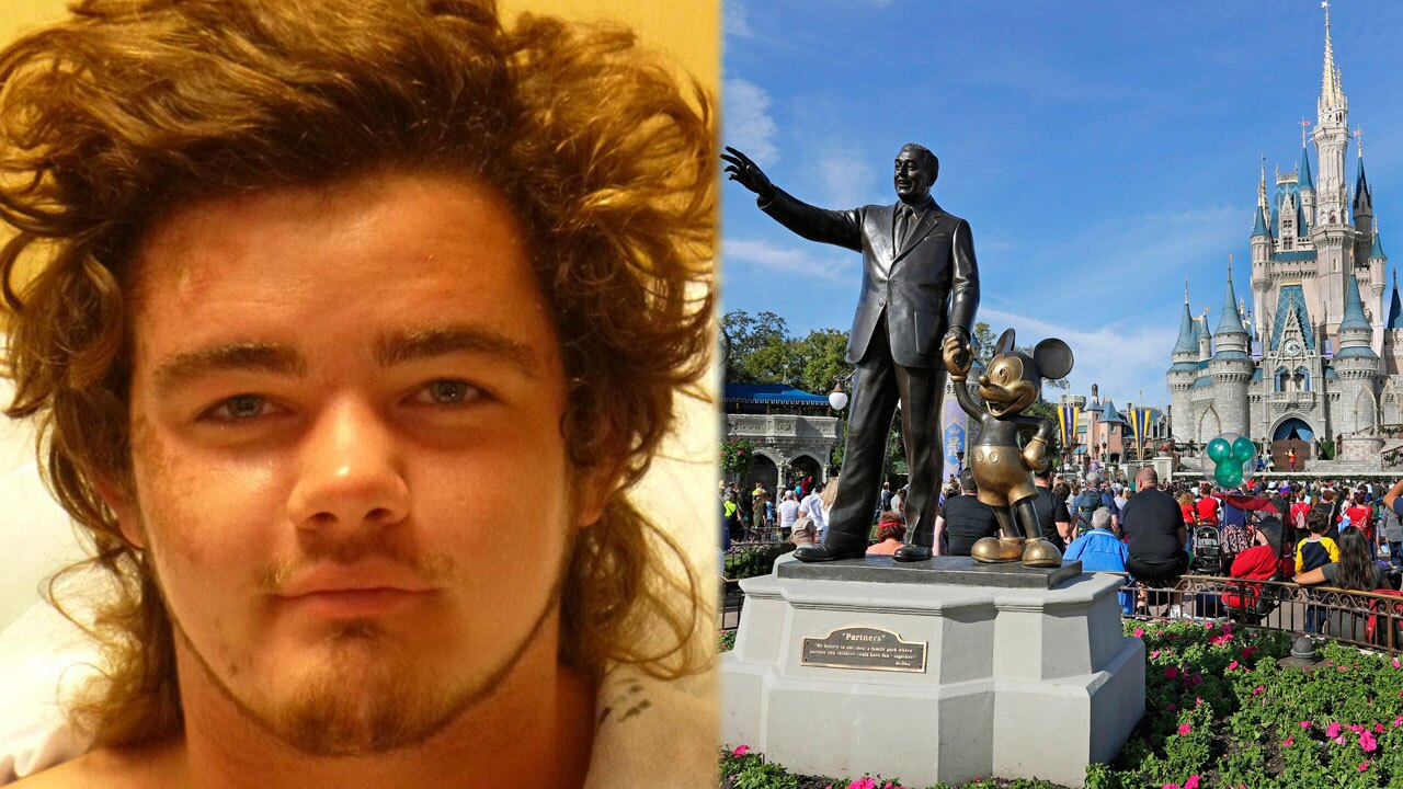 James Arvid, Pompano Beach man on LSD attack guard at Disney