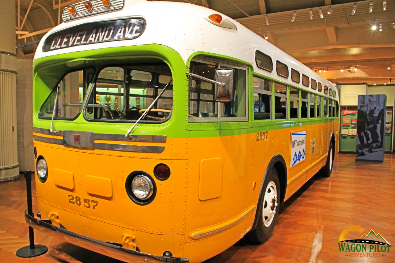 The Henry Ford Rosa Parks Bus