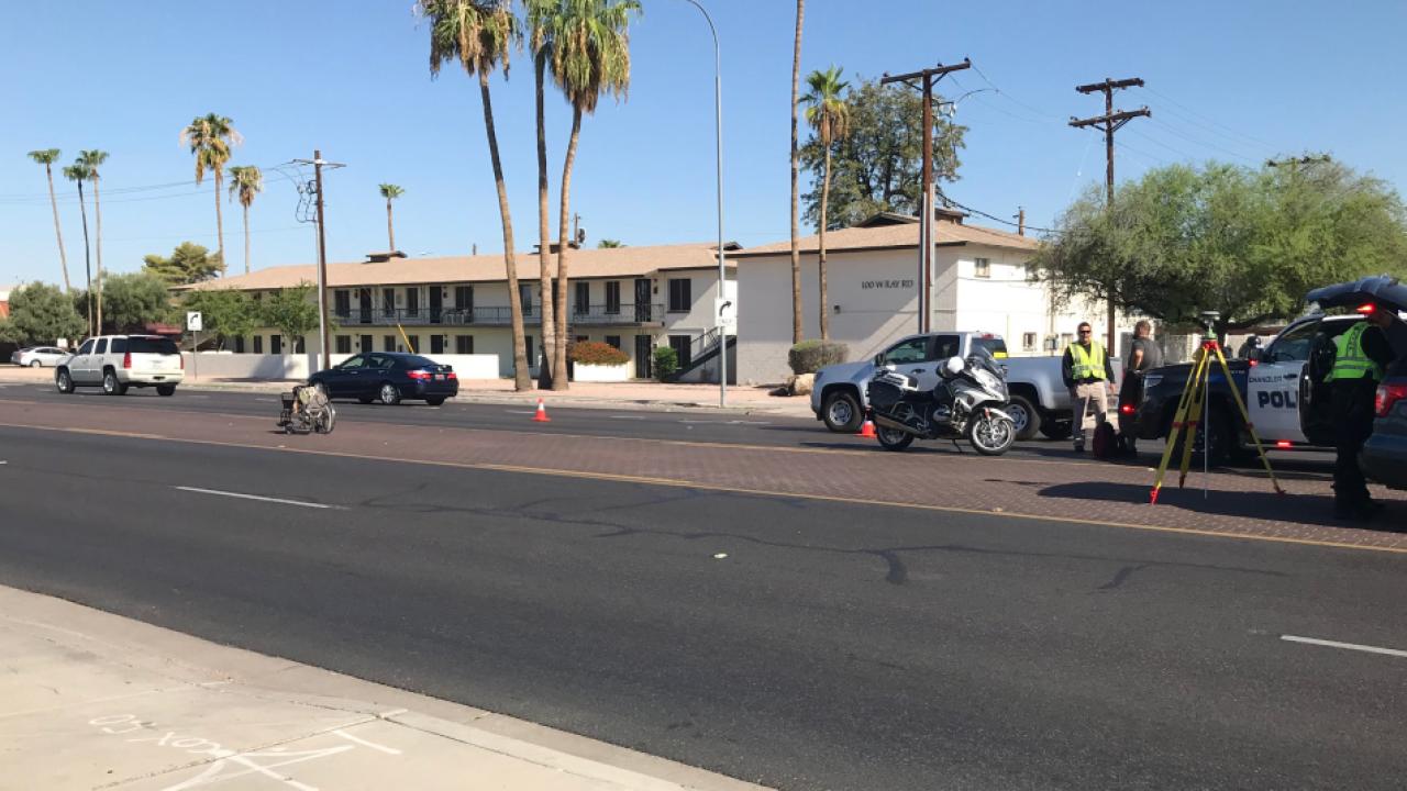Arizona Avenue hit-and-run crash
