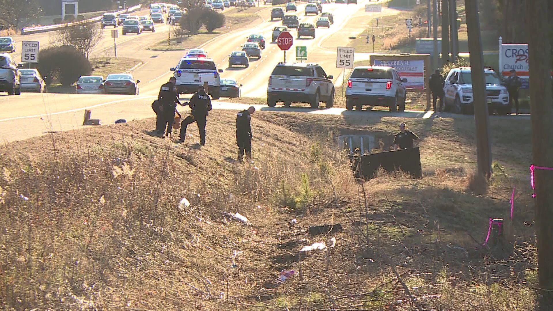Photos: Police ID Chesterfield hit-and-run victim found down embankment