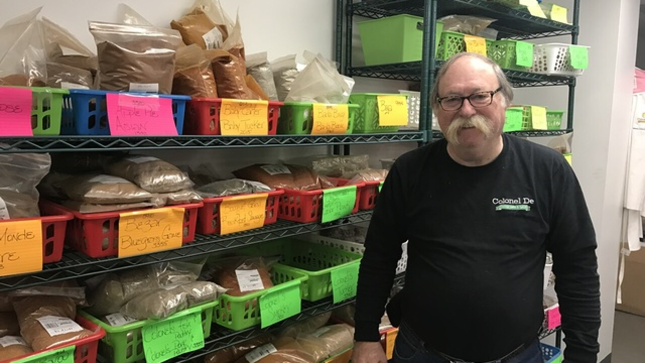 Spices, sauces, herbs, rubs: Northern Kentucky's one-of-a-kind Colonel De brings the flavor