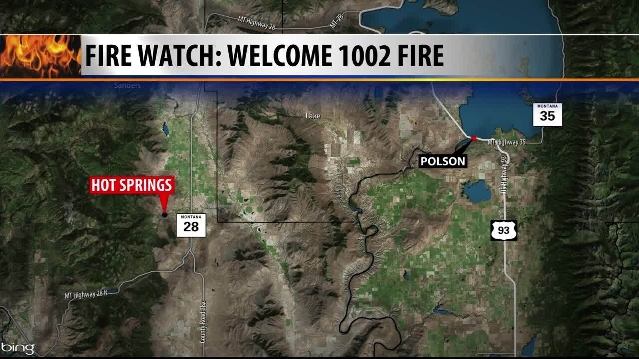 Hot Springs Fire Map
