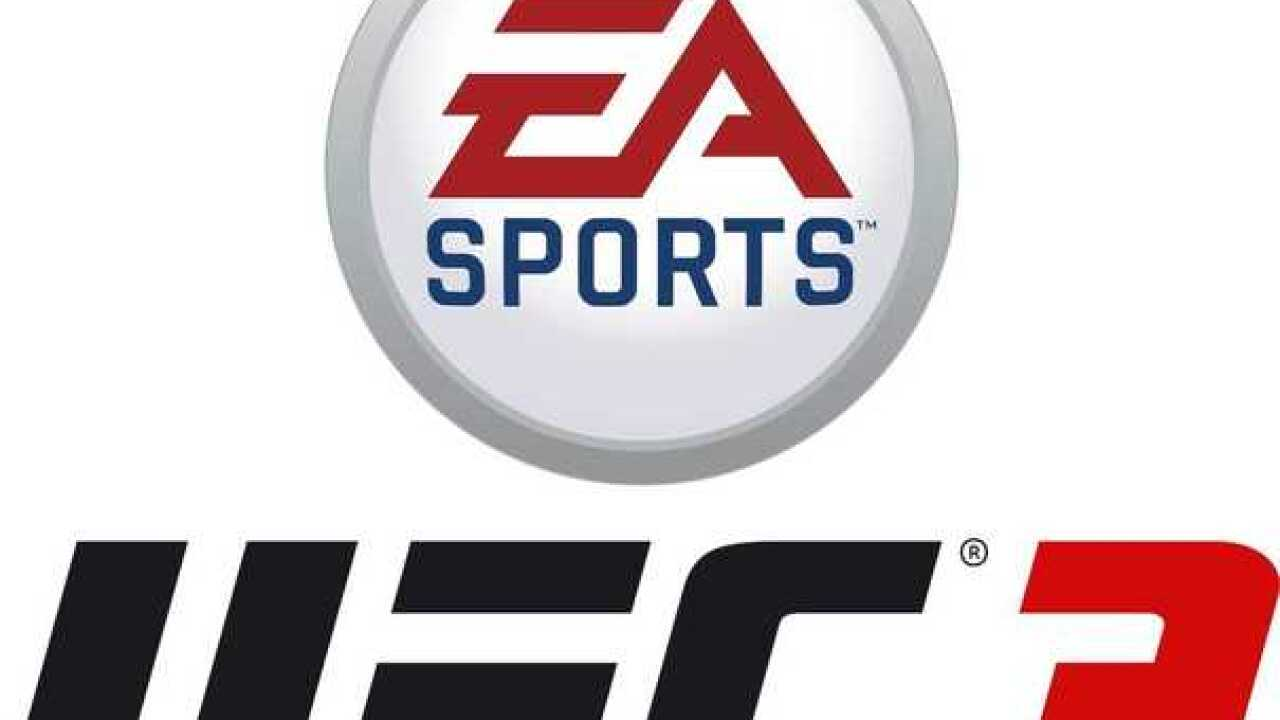 Conor McGregor on cover of EA Sports UFC 3 game