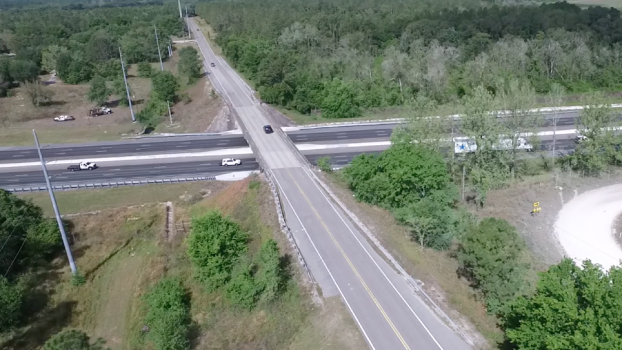 proposed I-75 interchange at Overpass Road