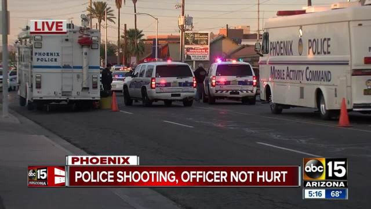 PD: Officer-involved shooting in Phoenix