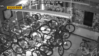 Over $1K in bikes stolen from Knicker Biker