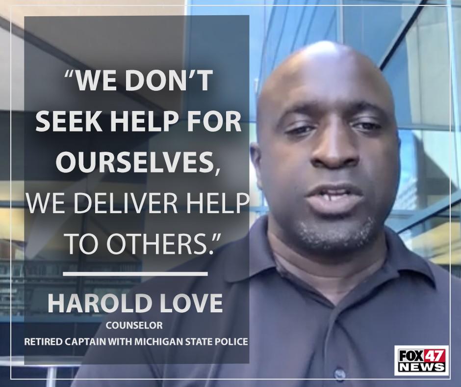 Retired Michigan State Police Captain Harold Love