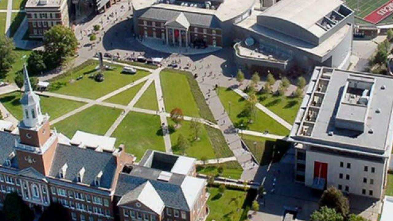 University of Cincinnati campus.