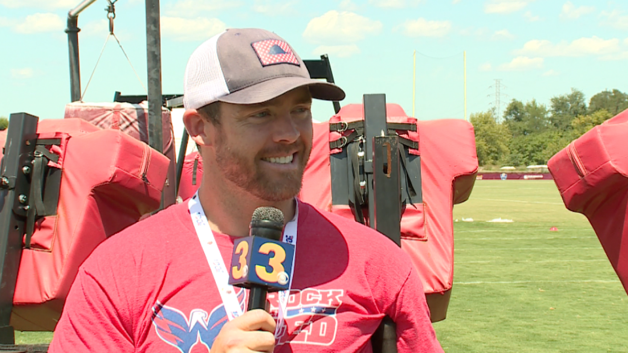 Reflective Redskin: In 1-on-1 interview, QB Colt McCoy looks back, eyes what'sahead