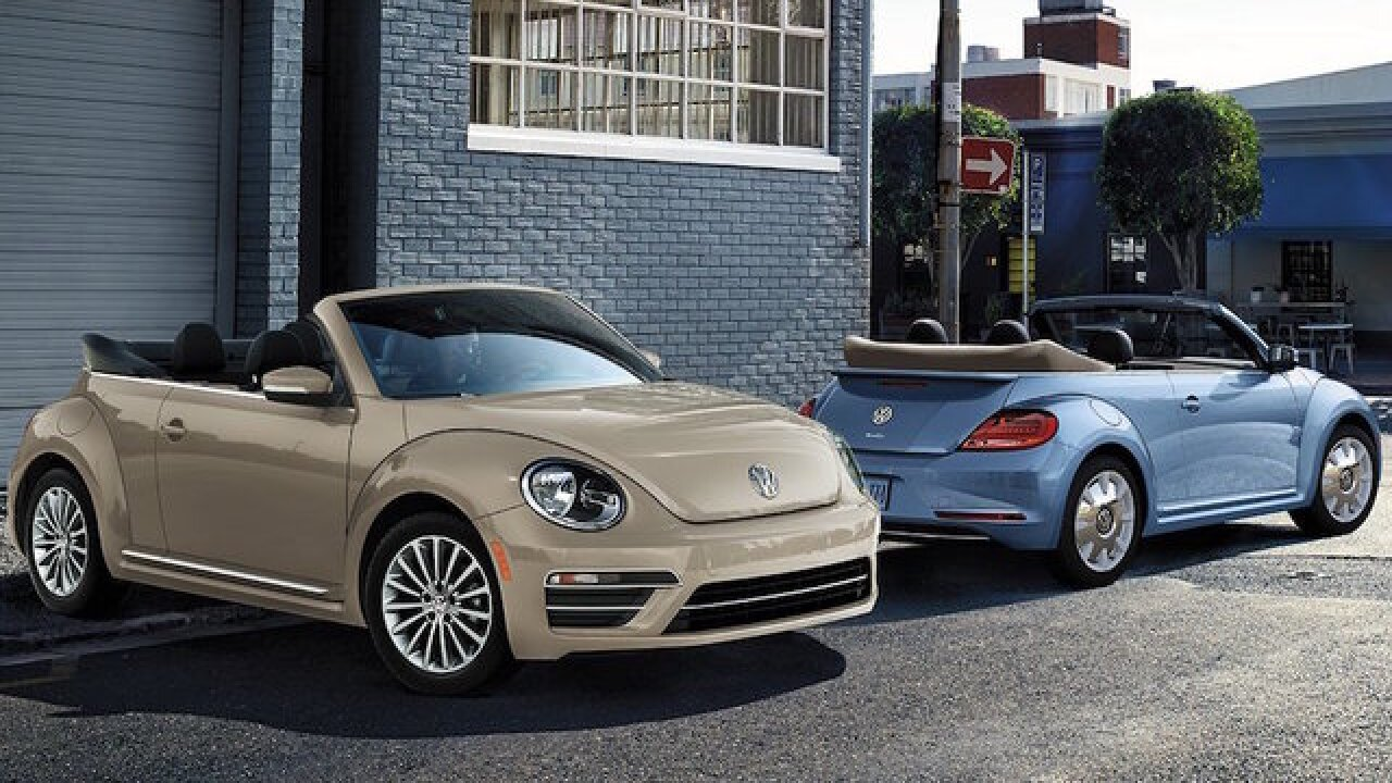 The last Volkswagen Beetle will roll off the line next year