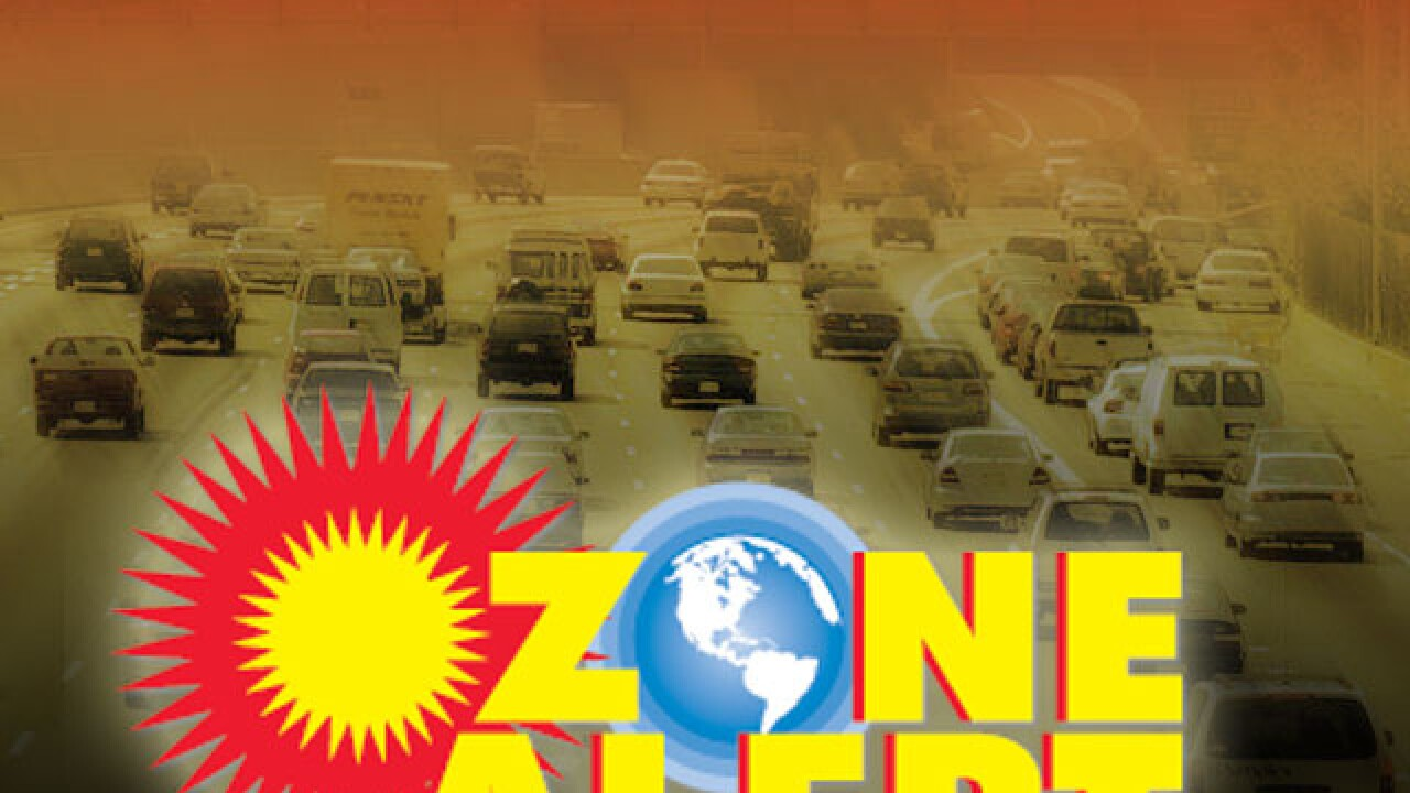 BLOG: What is an Ozone Alert?