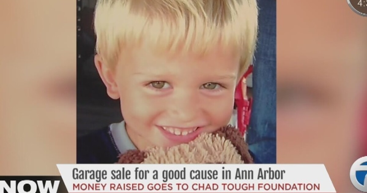 Garage Sale Being Held To Raise Money For Chad Tough Foundation