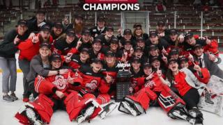 Ohio State Buckeyes Women's Hockey Team championship