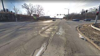 Blue Ridge Cutoff and Raytown Road.JPG