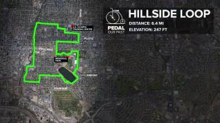 Pedal Our Past - Hillside Loop