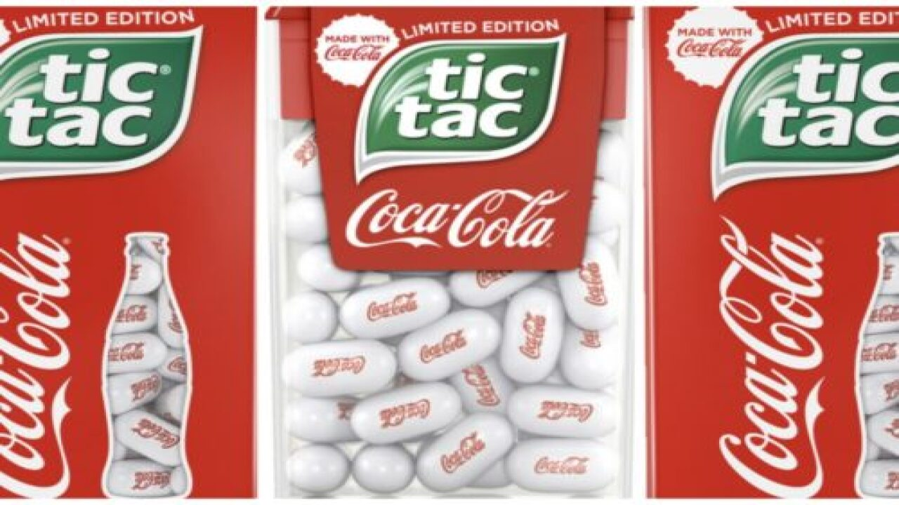 Coke And Tic Tac Are Collaborating To Make Cola-flavored Mints