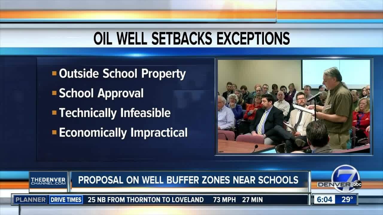 New oil, gas proposal about buffer zones for school campuses