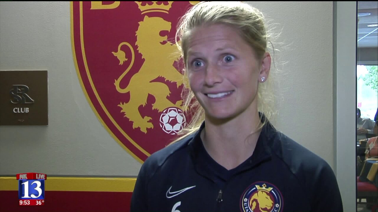 Utah Royals FC defender, Katie Bowen, invited to her third World Cup with NewZealand
