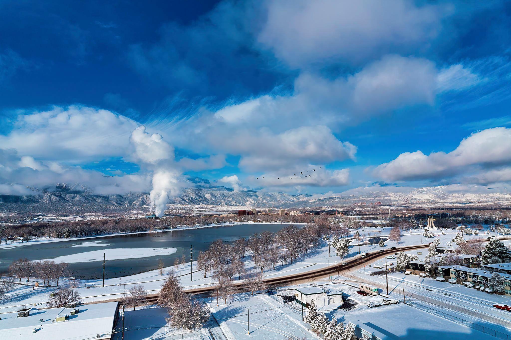 December in Colorado Springs