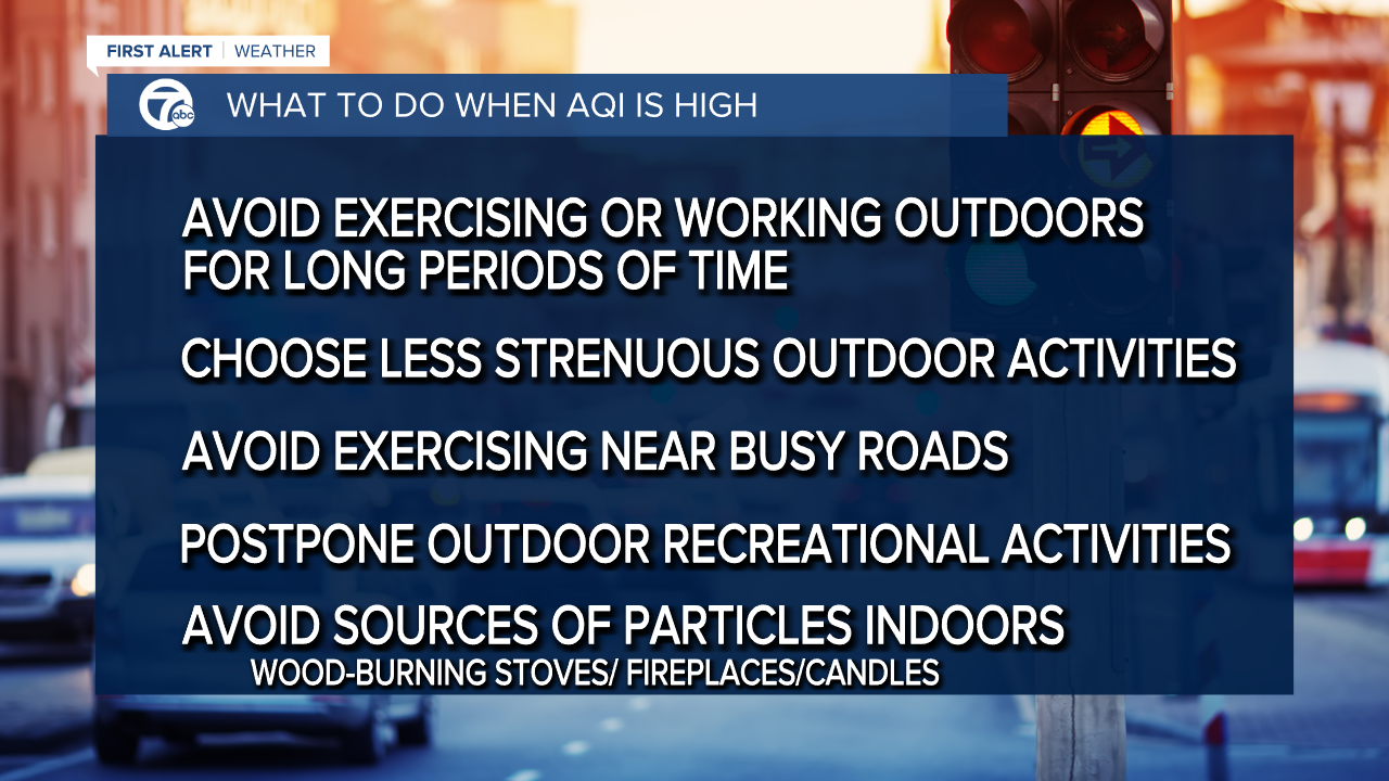 What to do when AQI is high