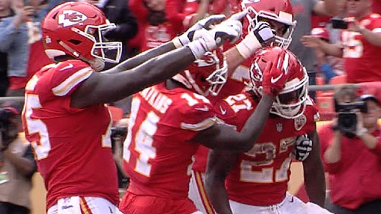 Undefeated Chiefs shift focus to Patriots
