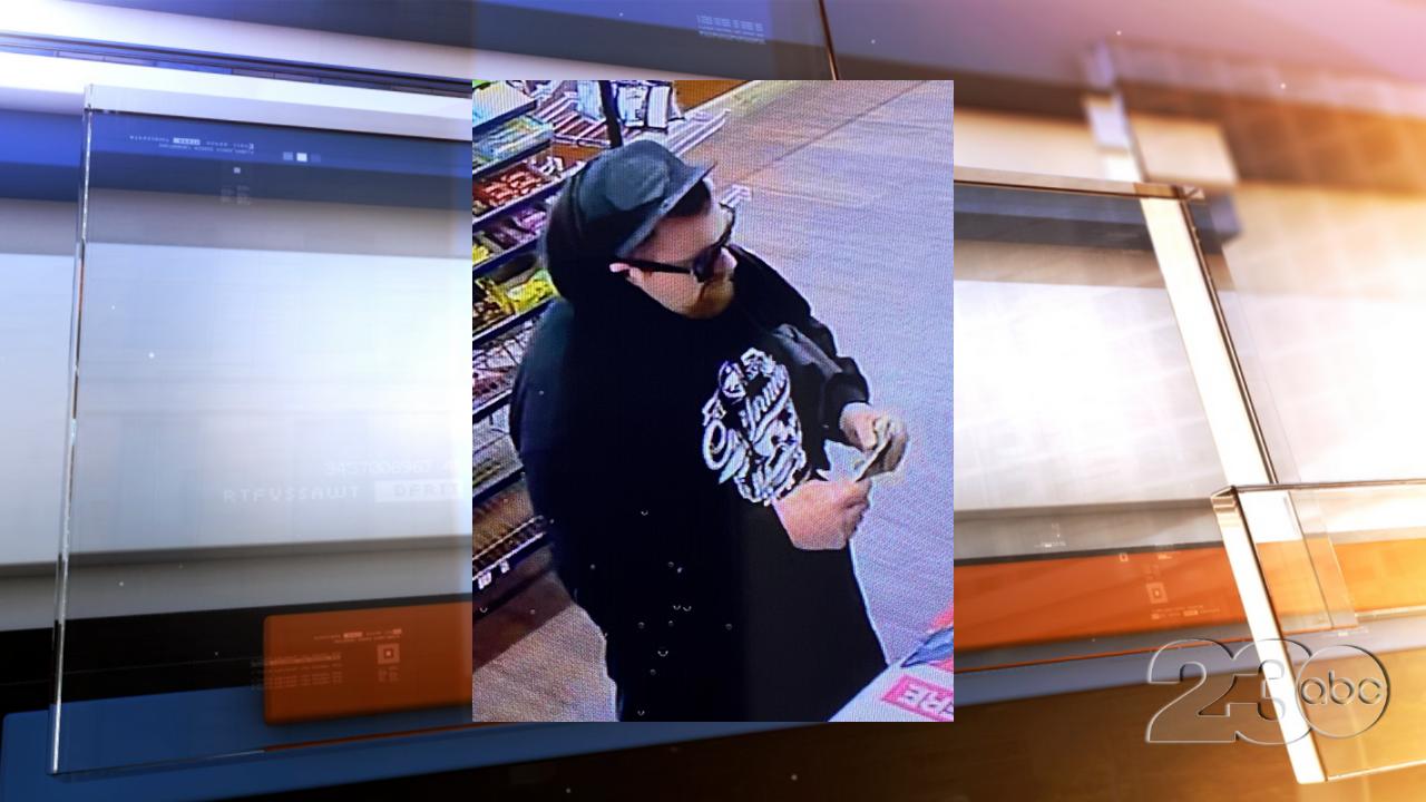 Cigarette Shop Robbery Suspect