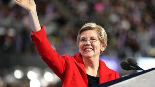The letter Elizabeth Warren was trying to read