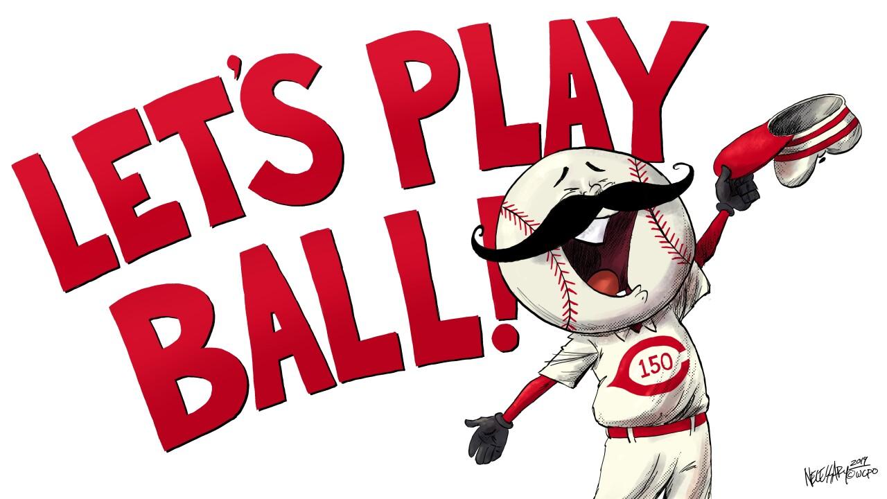 EDITORIAL CARTOON: Let's play ball!
