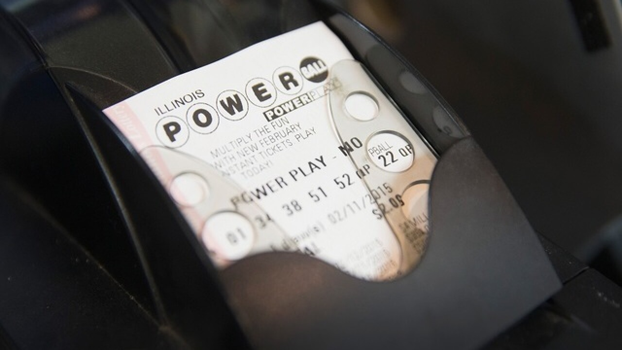 If you die while getting annual Powerball pay?