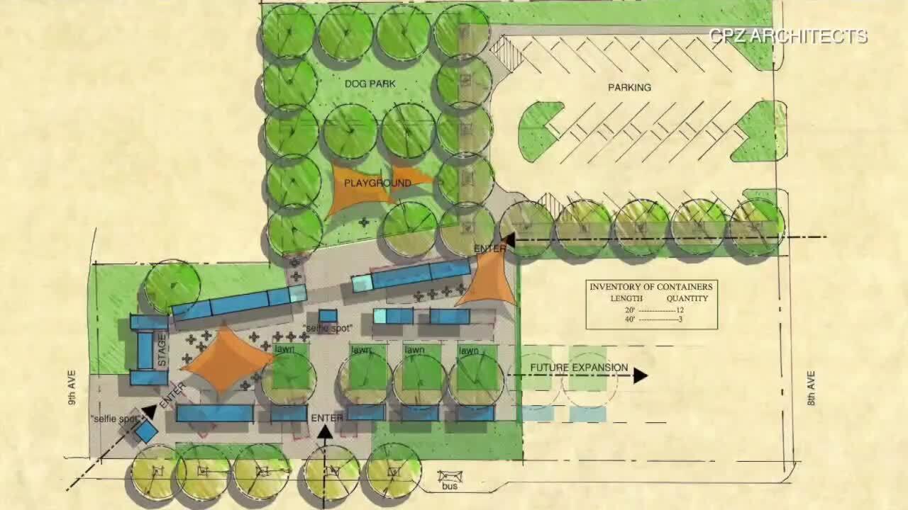 800 block of Atlantic Avenue sketch 4