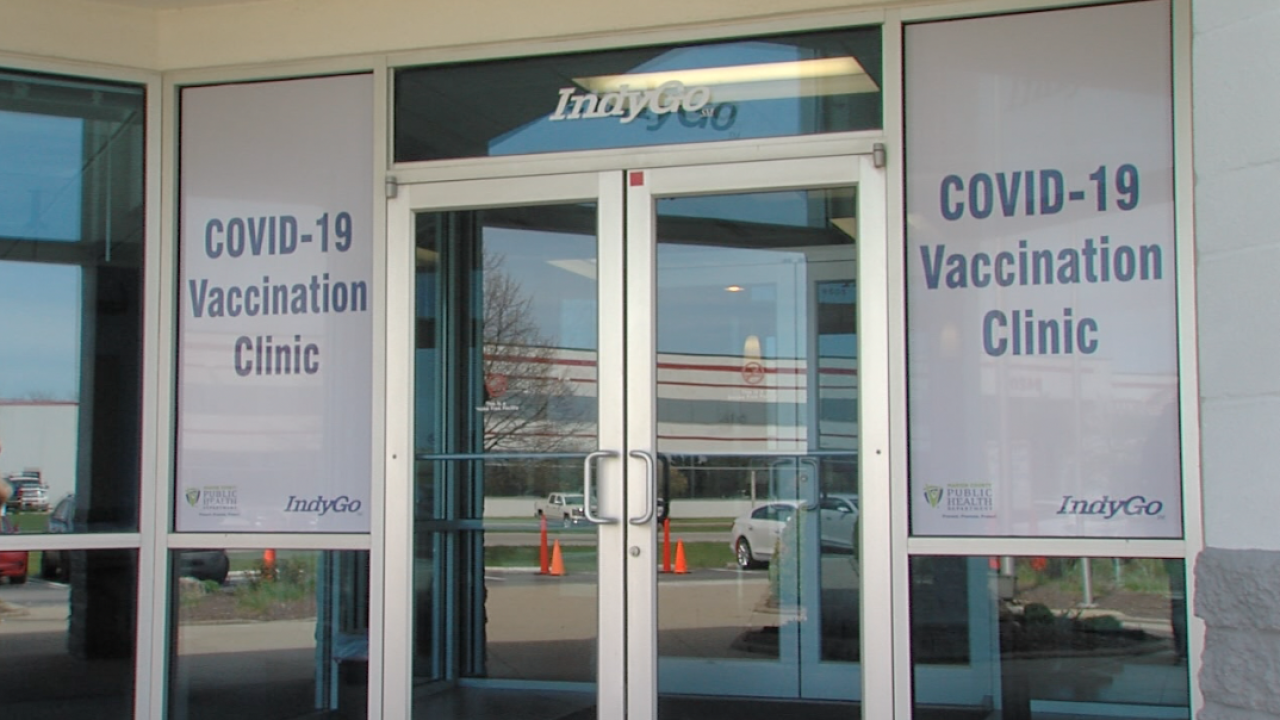 Marion county new vaccination clinic
