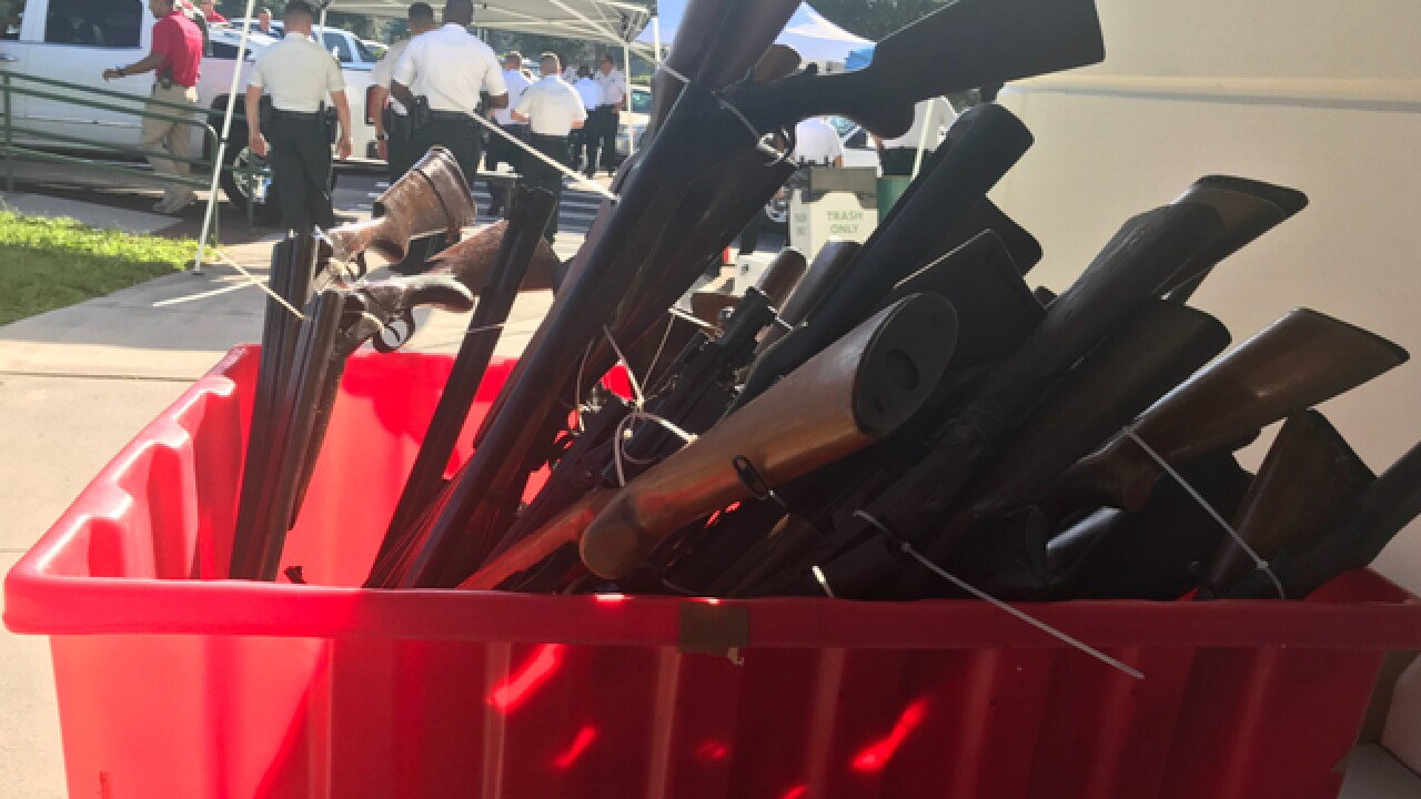 Deputies collected 1,173 at Gun Swap Event