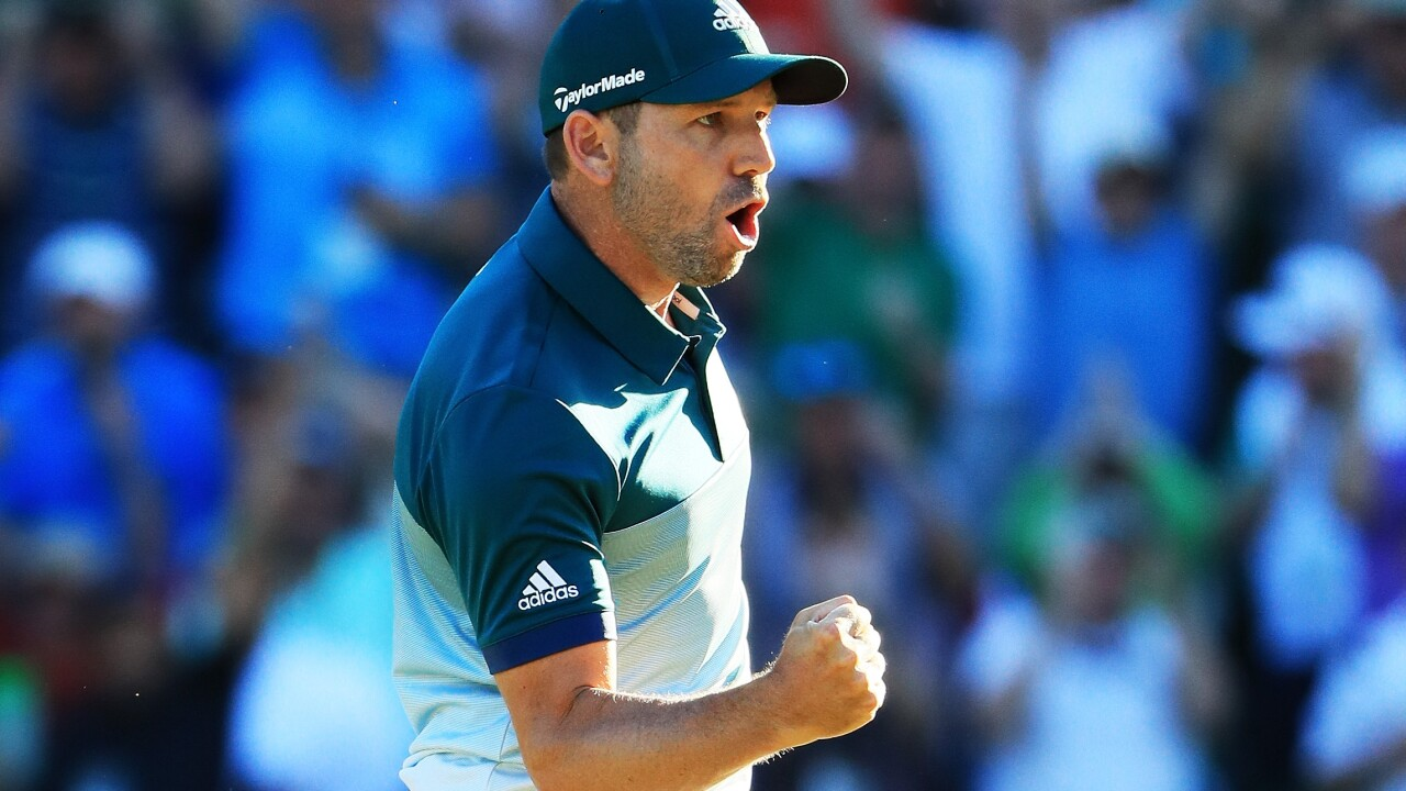 Sergio Garcia outduels Justin Rose on playoff hole to win first Masters tournament