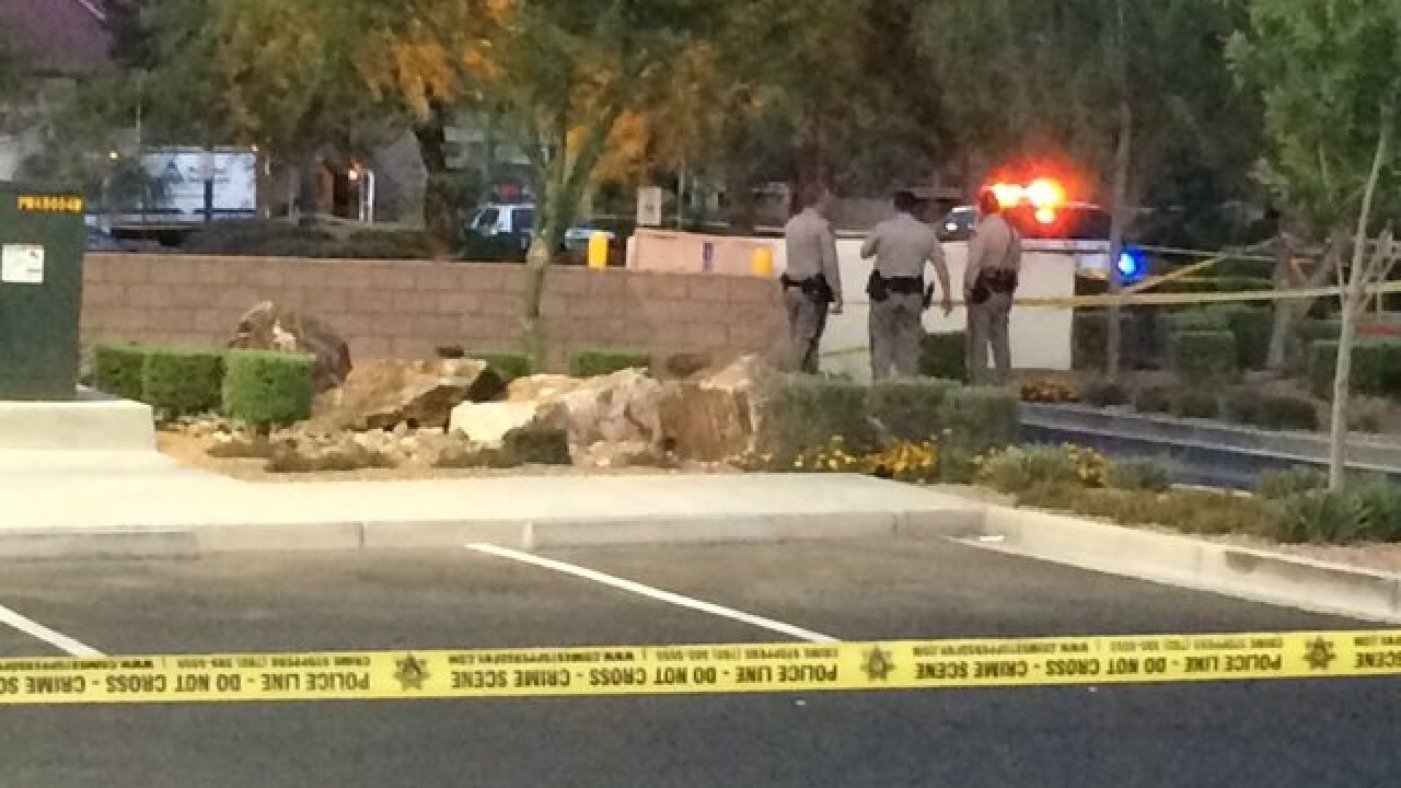 Woman found dead behind Walgreens in NW Vegas