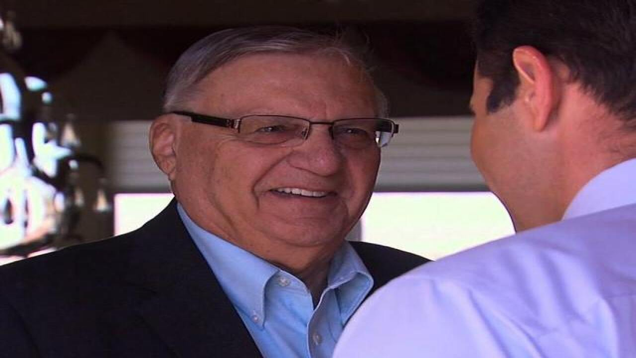 Could Sheriff Joe Arpaio go to the White House?