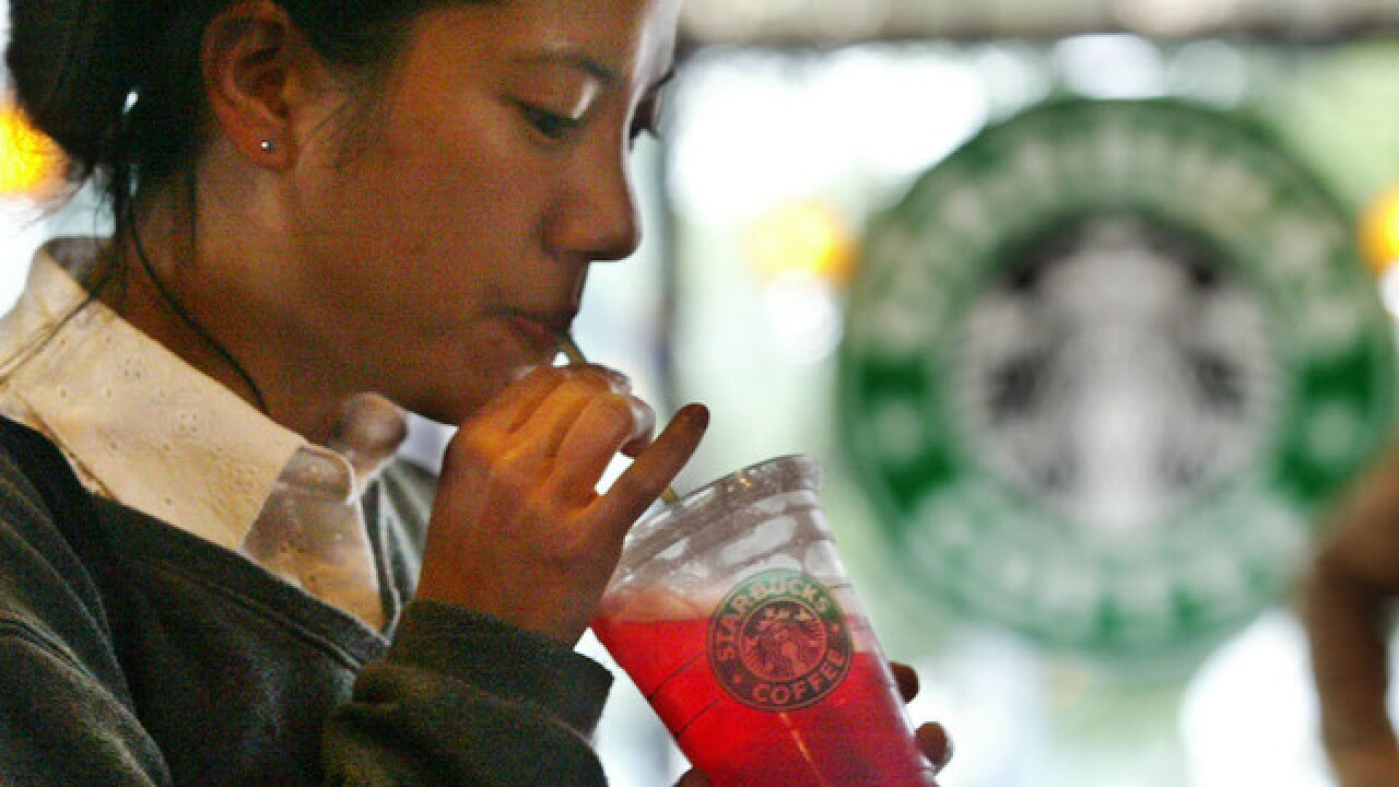 Fecal bacteria found in Starbucks iced drinks in UK, report says