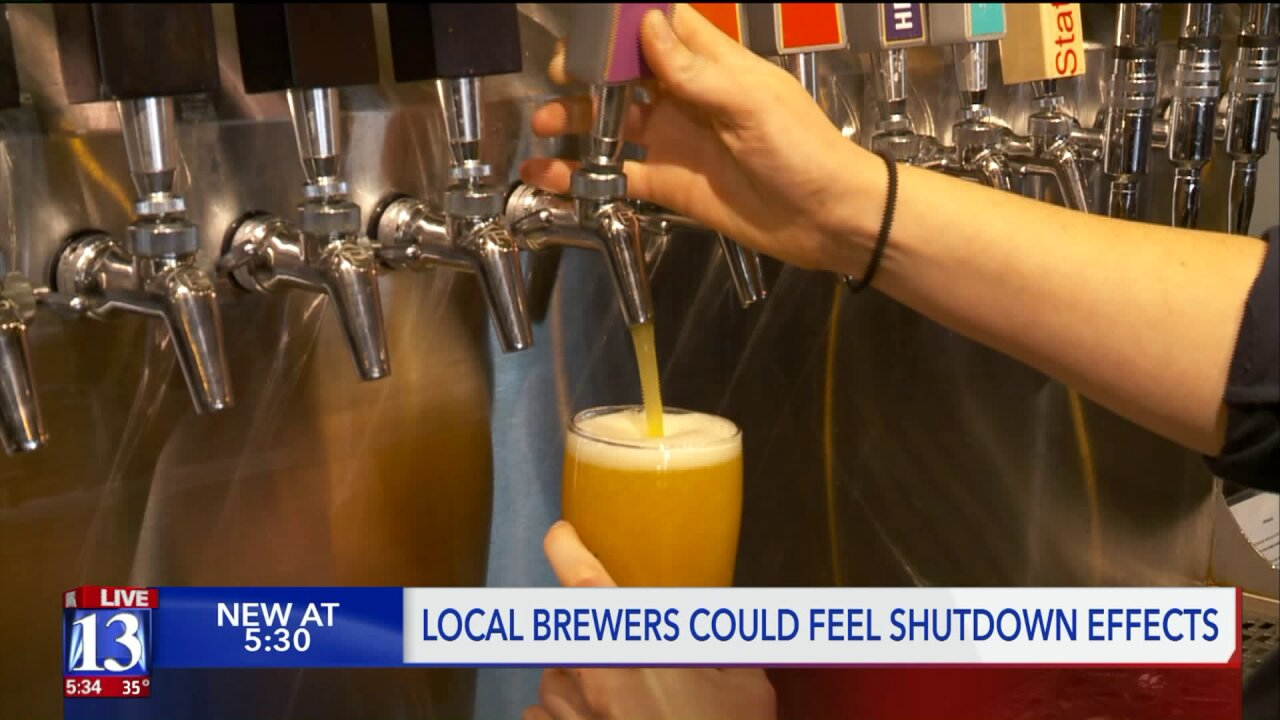 Utah's craft brewers face a 'crisis' as federal shutdown prevents beer sales