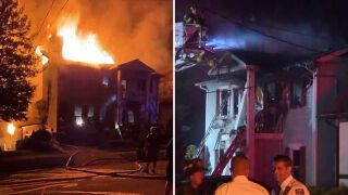 Large Staten Island house fire in Great Kills
