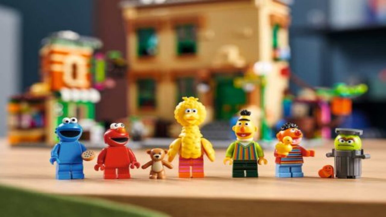 Lego Is Launching A 'Sesame Street' Set