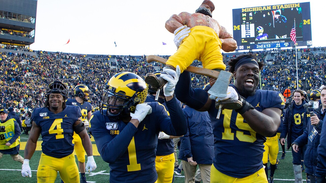 Michigan vs. Michigan State to kick off at noon on Halloween