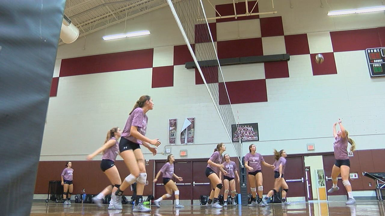 Chiles High volleyball team is young, but talented