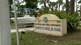 Harvey E. Oyer Jr. Park, where Boynton Beach wants to charge for using boat ramps